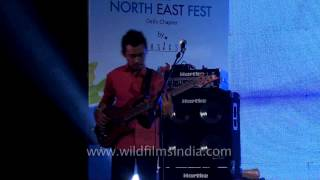 Alobo Naga and The Band at North East Fashion Festival