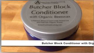 Butcher Block Conditioner With Organic Beeswax By Armani Fine Woodworking