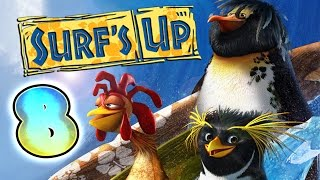Surf's Up Walkthrough Part 8 ♒ (PS3, X360, Wii, PS2, GCN, PC) ♒ ∿∿∿∿