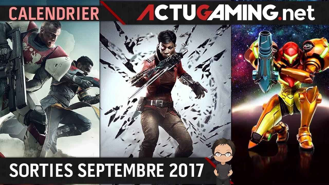 Calendrier Destiny 2.Calendrier Les Sorties Jeux Video Septembre 2017