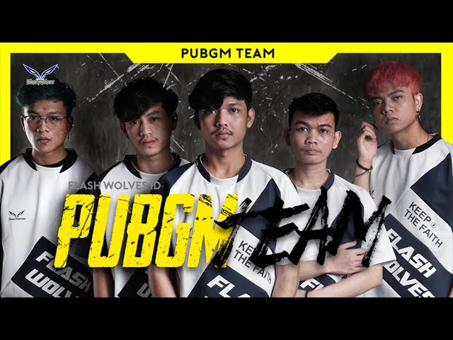 FLASH WOLVES PUBGM ROSTER 2020