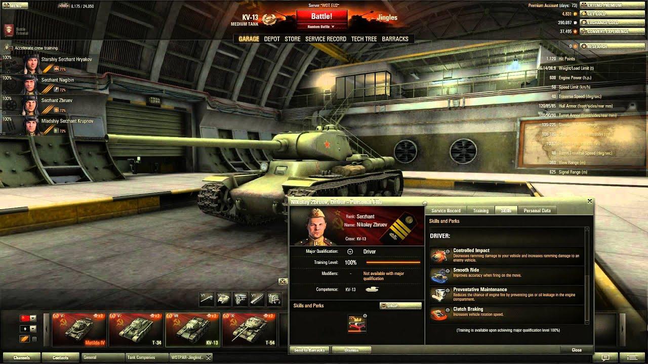 World of Tanks - KV-13 Tier 7 Medium Tank - YouTube