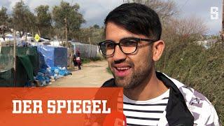 Reportage aus Lesbos: Rechte Gewalt gegen Geflüchtete und Helfer