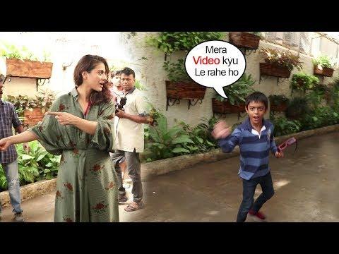 Kajol's Son Yug Devgan's WEIRD Behavior Seeing Media At Incredibles 2 Movie Screening