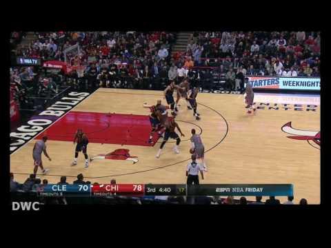 LeBron James Defense On Dwyane Wade, December 2, 2016