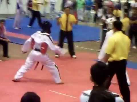 2009 Mindanao CPJ TKD Championship Butuan City 2nd Fight (Sudden Death Match)