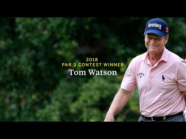 Tom Watson Highlights - 2018 Par 3 Contest