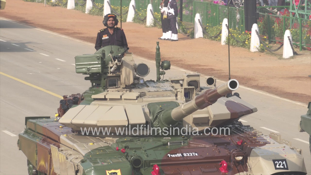 T90 Bhishma battle tank is main stay of Indian Army for border operations
