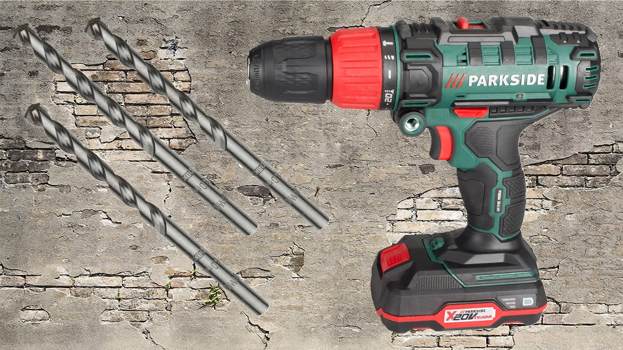 fa89f6a53e747 Parkside PSBSA 20-LI A1 Cordless Impact Drill REVIEW - YouTube