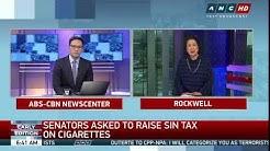 Ex-health chief pushes cigarette tax hike
