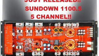 SUNDOWN AUDIO SAE-1100.5  5 CHANNEL AMPLIFIER