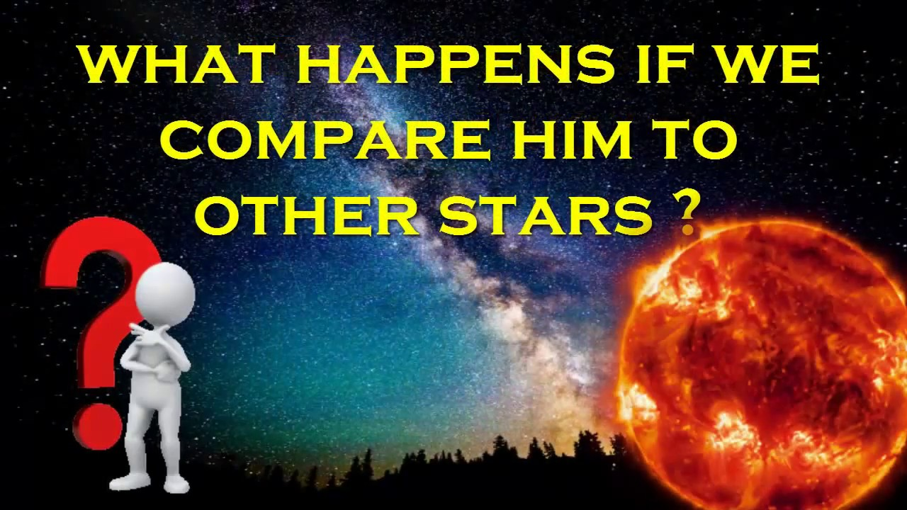 Compared Big Stars Other Sun How