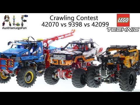Lego Technic 42070 Vs 9398 Vs 42099 Which Is The Best Crawler??