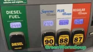 GAS PRICES - Anchorage Alaska - February 21st 2015
