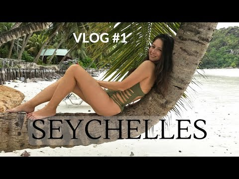 SEYCHELLES HONEYMOON, VLOG #1 | First Impressions, Tasting Shark Fish!! | Dilya London