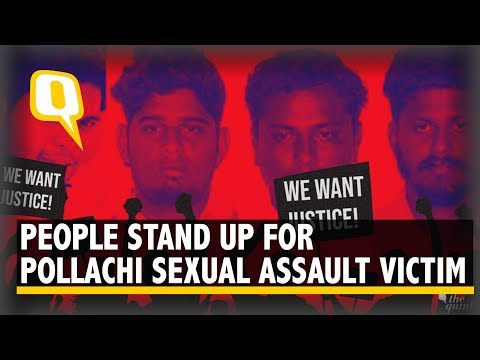 People Stand up for Pollachi Sexual Assault Victim, Demand Justice