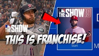 So this is Franchise Mode in MLB The Show 19