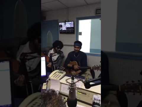 SANAM interviewed at SURINAME RADIO AMOR FM__