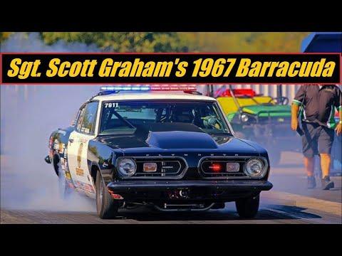 1967 Plymouth Barracuda 440 Drag Raced By LA Sheriff