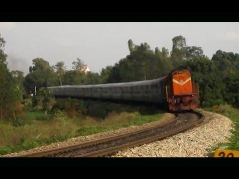 Kacheguda Express Tilting at Good Speed