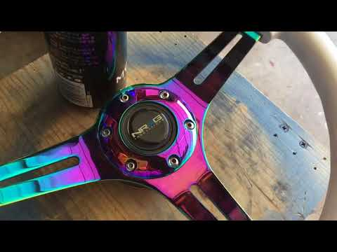 How to Painting NRG steering wheel