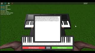 I Got A Feeling - ROBLOX Piano