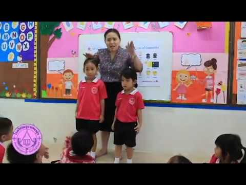 """Opposites"" Kindergarten 1 Bilingual program"