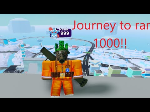 1 MORE RANK TILL 1000|Roblox Mad City