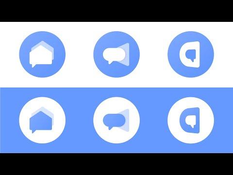Ep.20 : Design A Chat App Logo #dailylogochallenge