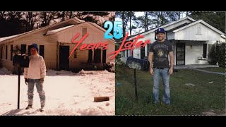 My childhood home, then & now ABANDONED - 1354