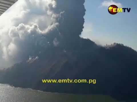 Dormant Volcano Erupts in Wewak, Papua New Guinea
