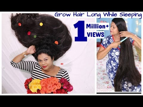 Grow Hair LONG While SLEEPING| Hair Growth Hacks For Lazy Girls|Chichouz Unboxing|Sushmita's Diaries