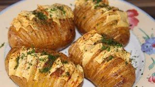 Leckere vegane Ofenkartoffeln - Baked Potatoes mit Käse