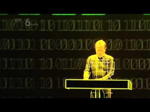 Kraftwerk  Numbers  Computer World  at Latitude