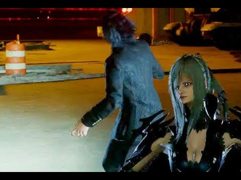 Final Fantasy XV Noctis uses the ring on Aranea