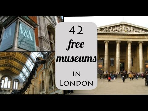 list of free museums in london