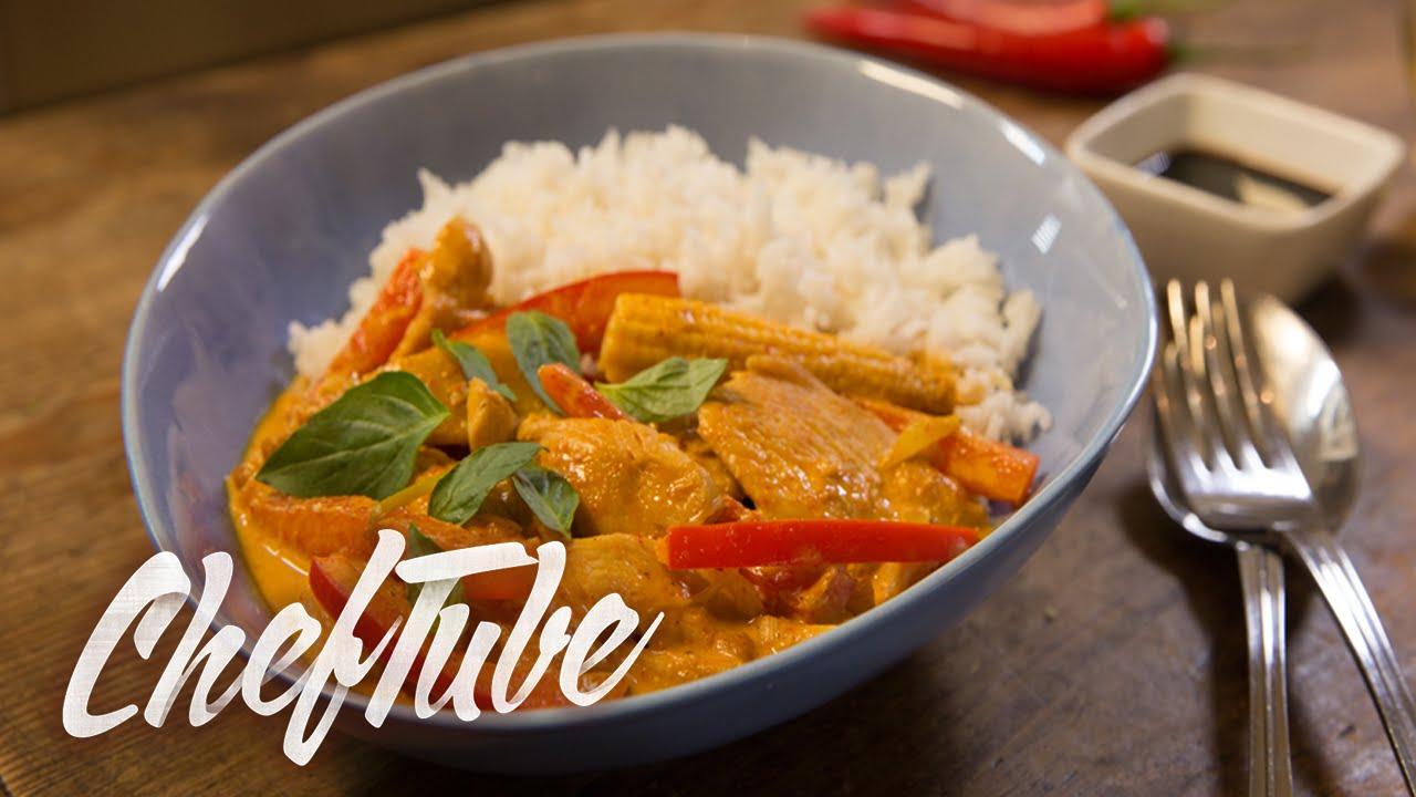 comment faire un curry de poulet tha express recette dans la description youtube. Black Bedroom Furniture Sets. Home Design Ideas