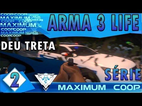 ARMA 3 AUSTRALIA LIFE COOP #2 - DEU TRETA! / Gameplay 1080p  PT-BR