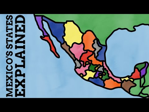 How Did The States Of Mexico Get Their Names?