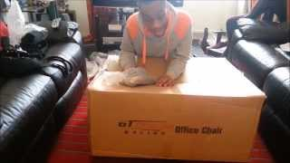 Gt Omega Pro Racing Office Chair Unboxing