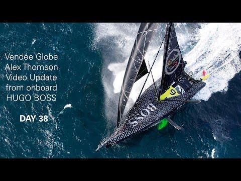Vendée Globe Day 38 Update Onboard HUGO BOSS