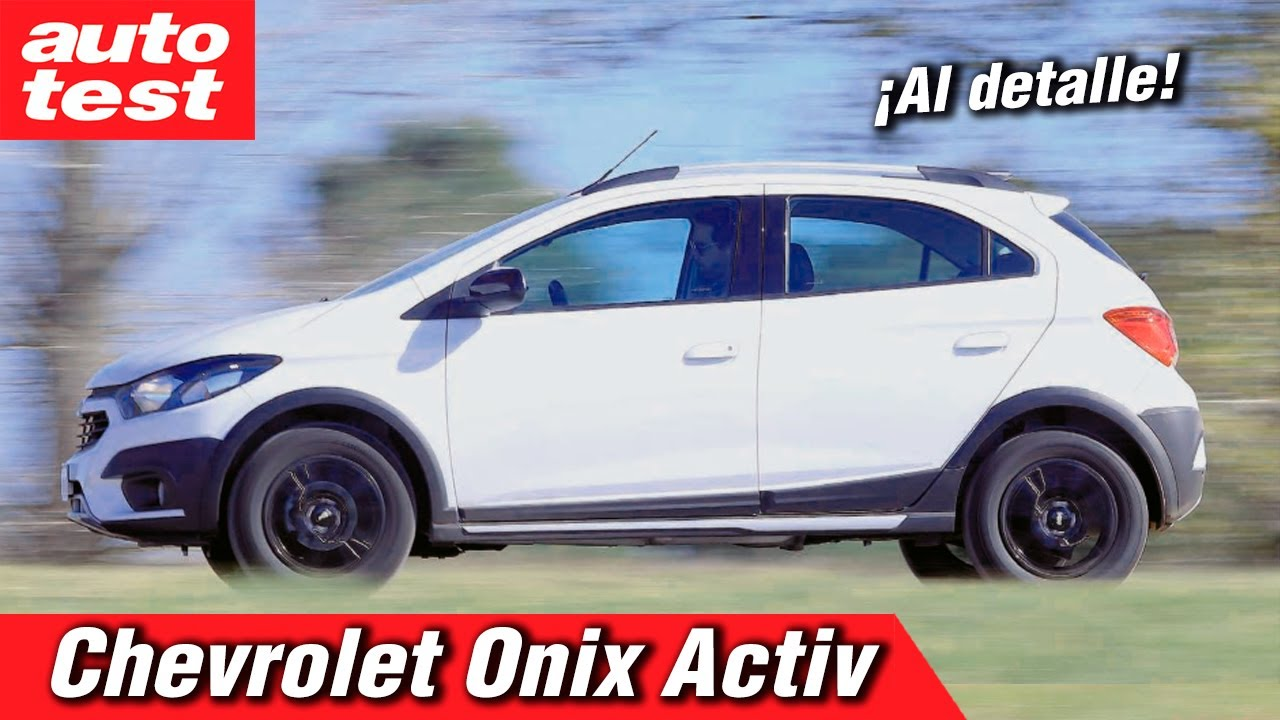 Mini Test Chevrolet Onix Activ Youtube