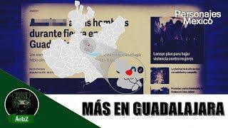 #Jalisco Seis en una fiesta en la Colonia el Carmen de Guadalajara
