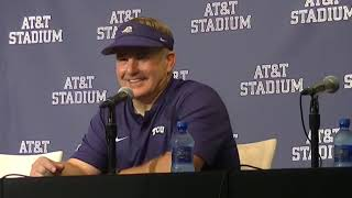 TCU HC Gary Patterson discusses Frogs' loss to Ohio State