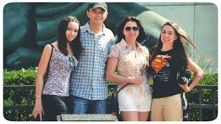 Жизнь в США: Семейная прогулка, магазинам, последствия потопа в Детройте | VLOG August 14, 2014