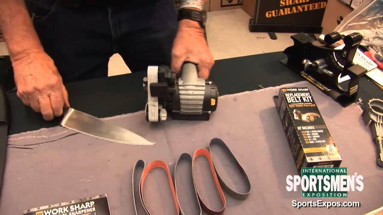 the new ken onion edition work sharp knife u0026 tool sharpener