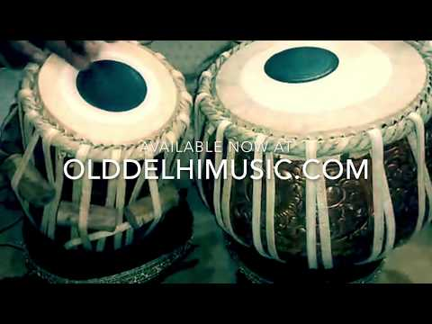 Tabla Sets & Percussion | Indian Drums | Old Delhi Music