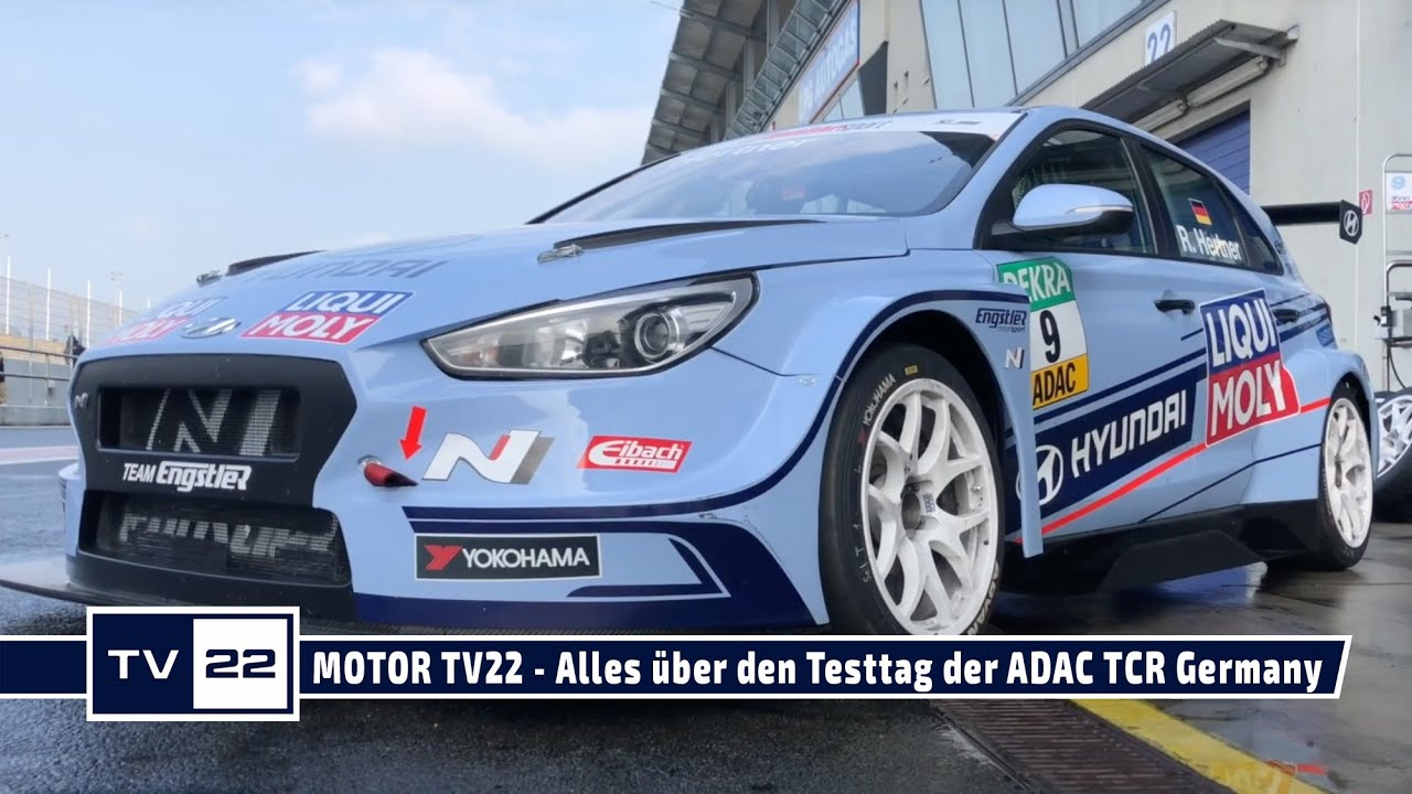 MOTOR TV22: Alle Bilder vom offiziellen Test der ADAC TCR Germany in Oschersleben