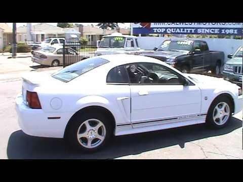 2004 Ford Mustang Coupe 2D 40th Anniversary Edition SOLD