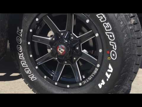 Ford Ranger Wheels - Ballistic Razorback Rims   AutoCraze